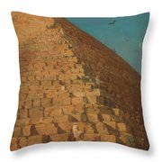 The Great Pyramid Throw Pillow