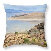 The Great Salt Lake 3 Throw Pillow