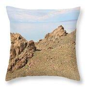The Great Salt Lake 8 Throw Pillow