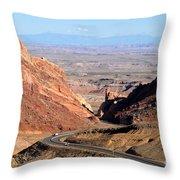 The Great San Rafael Reef Throw Pillow