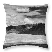 The Great Sand Dunes Panorama 2 Throw Pillow