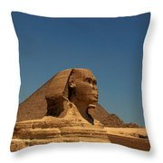 The Great Sphinx Of Giza 2 Throw Pillow