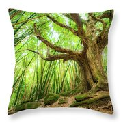 The Great Tree Throw Pillow