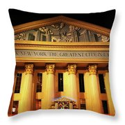 The Greatest City In Las Vegas Throw Pillow