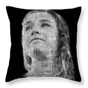 The Greatest Story Never Told Throw Pillow