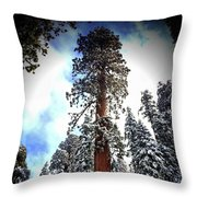 The Greatness Of Our Majesty's Work Throw Pillow