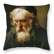 The Greek Priest Throw Pillow