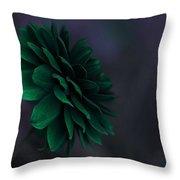 The Green Flower 2 Throw Pillow