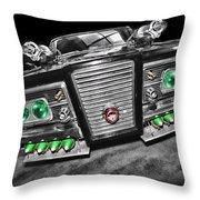 The Green Hornet - Black Beauty Throw Pillow