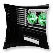 The Green Hornet Black Beauty Clone Car Throw Pillow