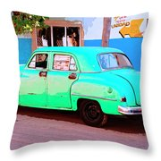 The Green Hornet Throw Pillow