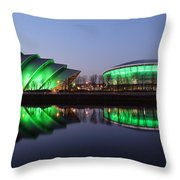 The Green Hour Throw Pillow