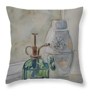 The Green Mister Throw Pillow