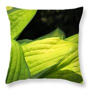 The Greens Throw Pillow