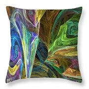 The Groove Throw Pillow