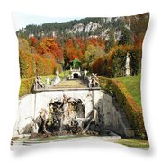 The Groto Throw Pillow