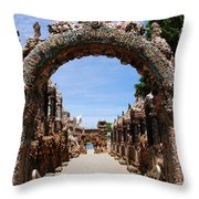 The Grotto Of Redemption Throw Pillow