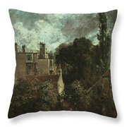 The Grove Or The Admiral's House In Hampstead Throw Pillow