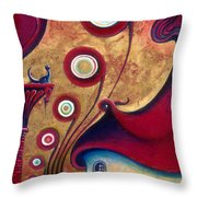 The Guardian Of Changes The Destiny Throw Pillow