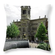 The Guildhall - Derby Throw Pillow