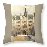 The Guildhall Throw Pillow