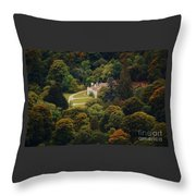 The Guinness House Wicklow Throw Pillow