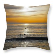 The Gull And Us Throw Pillow