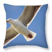 The Gull Throw Pillow