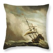 The Gust 3 Throw Pillow