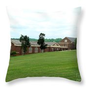 The Gym At Sweet Briar Throw Pillow
