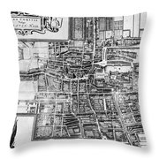 The Hague: Map, C1650 Throw Pillow