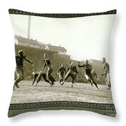 The Hail Mary Throw Pillow