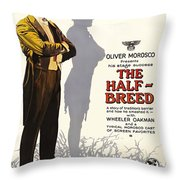 The Half-breed Throw Pillow