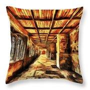 The Hallway Throw Pillow