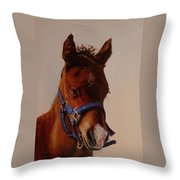 The Halter Throw Pillow