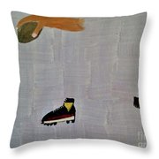 The Hand 2 Throw Pillow