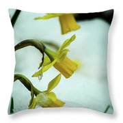 The Hand Over Throw Pillow