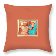 The Hands Of Picasso Throw Pillow