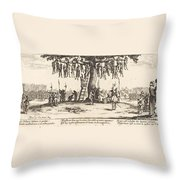 The Hanging Throw Pillow