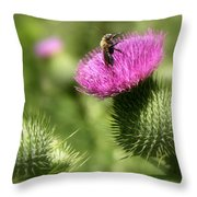 The Happy Dance Throw Pillow
