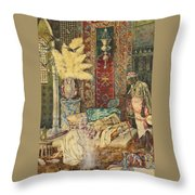 The Harem Throw Pillow
