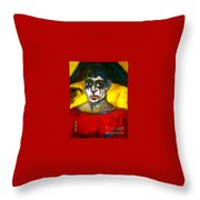 The Harpe Mai Hart. Throw Pillow