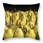 The Harvest Continues Throw Pillow