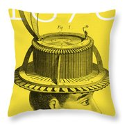 The Hat Conformator Throw Pillow