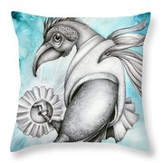 The Hatchling Throw Pillow