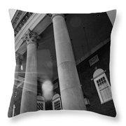 The Haunted Auditorium Throw Pillow