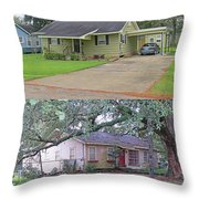 The  Have's  And  The  Have  Not's Throw Pillow