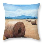The Haystack Throw Pillow