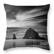 The Haystack's Brothers Throw Pillow