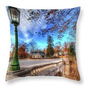 The Headless Horseman Bridge Throw Pillow